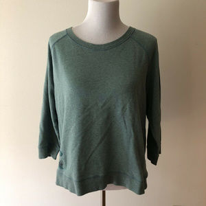 Life Is Good mint green sweatshirt - womens XL